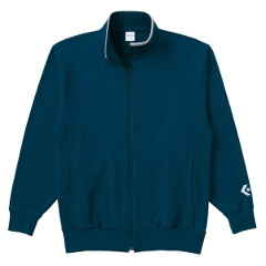 【コンバース】 フルジッパースウェットジャケット [カラー:ネイビー] [サイズ:2XO] #CB141203-2900 【スポーツ・アウトドア:その他雑貨】【CONVERSE】