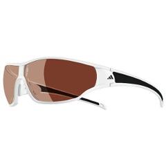 【アディダス】 A192 TYCANE 偏光レンズ スポーツサングラス [カラー:マットホワイトブラック] [サイズ:S] #A192016054 【スポーツ・アウトドア:スポーツウェア・アクセサリー:スポーツサングラス】【ADIDAS】