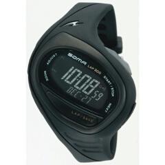 【ソーマ】 RUN ONE 300(ランワン300) ランニングウォッチ [カラー:ブラック×ブラック] #DWJ02 【スポーツ・アウトドア:スポーツ・アウトドア雑貨】【SOMA】