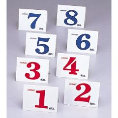 【アシックス】 グラウンドゴルフ用 スタート表示板セット(No.01~08) #GGG099 【スポーツ・アウトドア:その他雑貨】【ASICS】