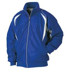 【ゼット】 野球用 グラウンドコート BOG490 [カラー:マリンブルー×シルバー] [サイズ:L] #BOG490 【スポーツ・アウトドア:野球・ソフトボール:ウェア:グランドコート】【ZETT】