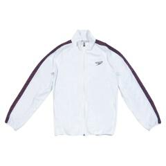 【スピード】 モノグラム ウインドジャケット(ユニセックス) [カラー:ホワイト] [サイズ:SS] #SD12F10 【スポーツ・アウトドア】【SPEEDO】
