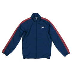 【スピード】 モノグラム ウインドジャケット(ユニセックス) [カラー:ネイビーブルー] [サイズ:SS] #SD12F10 【スポーツ・アウトドア】【SPEEDO】