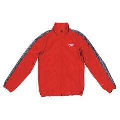 【スピード】 モノグラム ウインドジャケット(ユニセックス) [カラー:レッド] [サイズ:O] #SD12F10 【スポーツ・アウトドア】【SPEEDO】