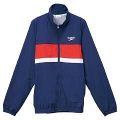 【スピード】 カラーブロック ウインドジャケット(ユニセックス) [カラー:ネイビーブルー] [サイズ:M] #SD12F11 【スポーツ・アウトドア】【SPEEDO】