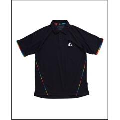 ゲームシャツ(ユニセックス) XLP-8029 [カラー:ブラック] [サイズ:L] #XLP8029