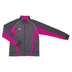 卓球用 トレーニングウェア ブライトジャージジャケット [カラー:グレー×マゼンタ] [サイズ:M] #033863