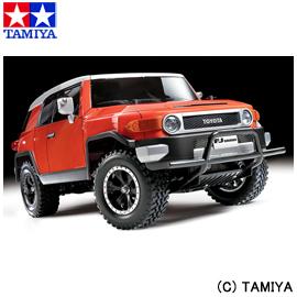 【タミヤ】 1/10 電動RCカ― No.588 トヨタ FJクルーザ― (CC-01シャーシ) 【玩具:ラジコン:オフロードカー:組み立てキット】【1/10RC ツーリングカー】【TAMIYA 1/10 Toyota FJ CRUISER (CC-01 CHASSIS)】