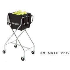 【ヨネックス】 スポーツアクセサリ― キャスター付きボールバッグ [カラー:ブラック] #AC373 【スポーツ・アウトドア:テニス】【YONEX】
