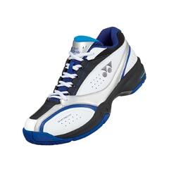 【ヨネックス】 テニスシューズ パワークッション ワイド 234 [カラー:ブラック×ブルー] [サイズ:23.0cm] #SHT-234W 【スポーツ・アウトドア:テニス:競技用シューズ:メンズ競技用シューズ】【YONEX】