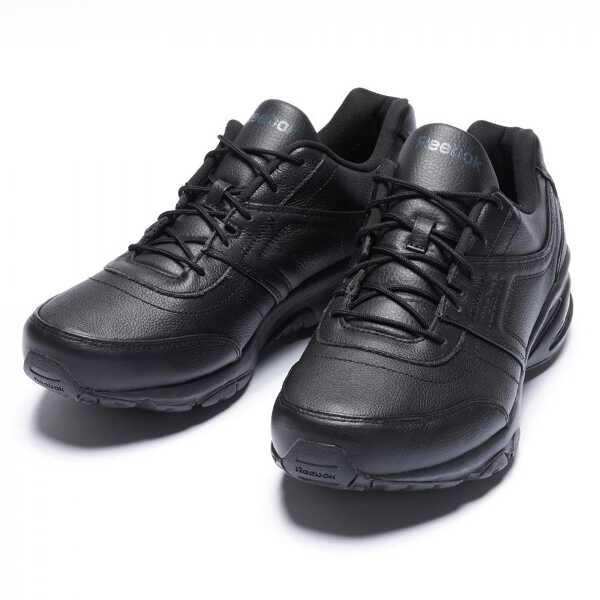 【5%off+最大3750円offクーポン(要獲得) 8/21 9:59まで】 【送料無料】 DMX MAX レインウォーカー ダッシュ 4E メンズウォーキングシューズ [サイズ:26.5cm] [カラー:ブラック×グラベル×フラットグレー] #M48150 【リーボック: 靴 メンズ靴 ウォーキングシューズ】