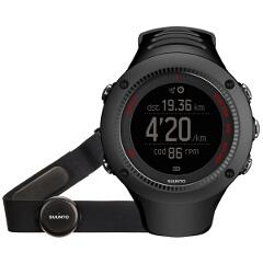 【スント】 AMBIT3 RUN HR BLACK(アンビット3ラン HR ブラック) 日本正規品 GPSスポーツウォッチ #SS021257000 【スポーツ・アウトドア:ジョギング・マラソン:ギア】【SUUNTO】