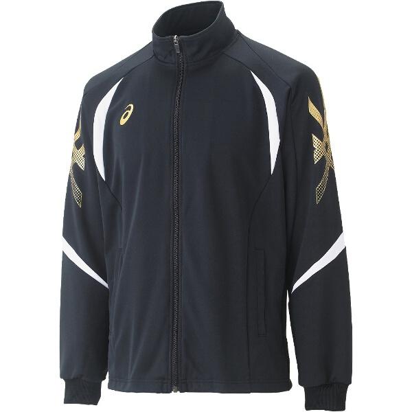 【アシックス】 トレーニング用 トレーニングジャケット XAT176 [カラー:ブラック] [サイズ:S] #XAT176 【スポーツ・アウトドア:その他雑貨】【ASICS】