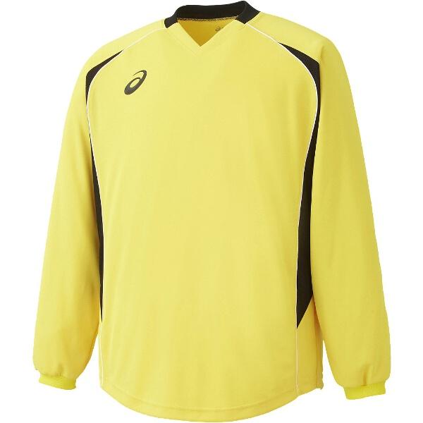 サッカー用 ゴールキーパーウェア GKシャツ XS1192 [カラー:イエロー] [サイズ:140] #XS1192