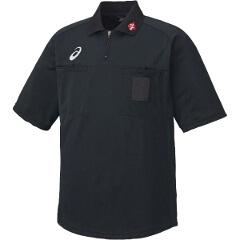 【アシックス】 ハンドボール用 レフリーシャツ XH6003 [カラー:ブラック] [サイズ:O] #XH6003 【スポーツ・アウトドア:スポーツ・アウトドア雑貨】【ASICS】
