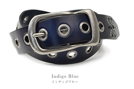 """900 kinds of store specializing in belts ♪ genuine leather belt """"Calm -Capella-"""" available studs / stone / eyelet a design feelings buckle in extreme popularity men / Lady's of the feel of texture it is said; is レデイース men's ladies Belt for the vintage st"""