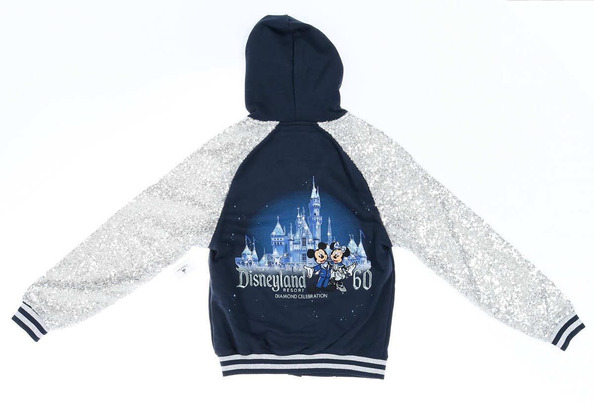 디즈니 Disney 공식 상품 디즈니랜드 다이아몬드 셀리브레이션 60주년 재킷옷잠바 윗도리 탑스 양복 여자 아이 걸즈 어린이용[병행수입]