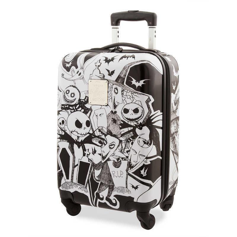 【1-2日以内に発送】 ディズニー Disney US公式商品 ジャックスケリントン ナイトメアビフォアクリスマス キャリーバッグ 鞄 カバン スーツケース 旅行 バッグ ラゲージ キャリーケース ころころ かばん [並行輸入品] Jack Skellington and Friends Rolling Luggage グ