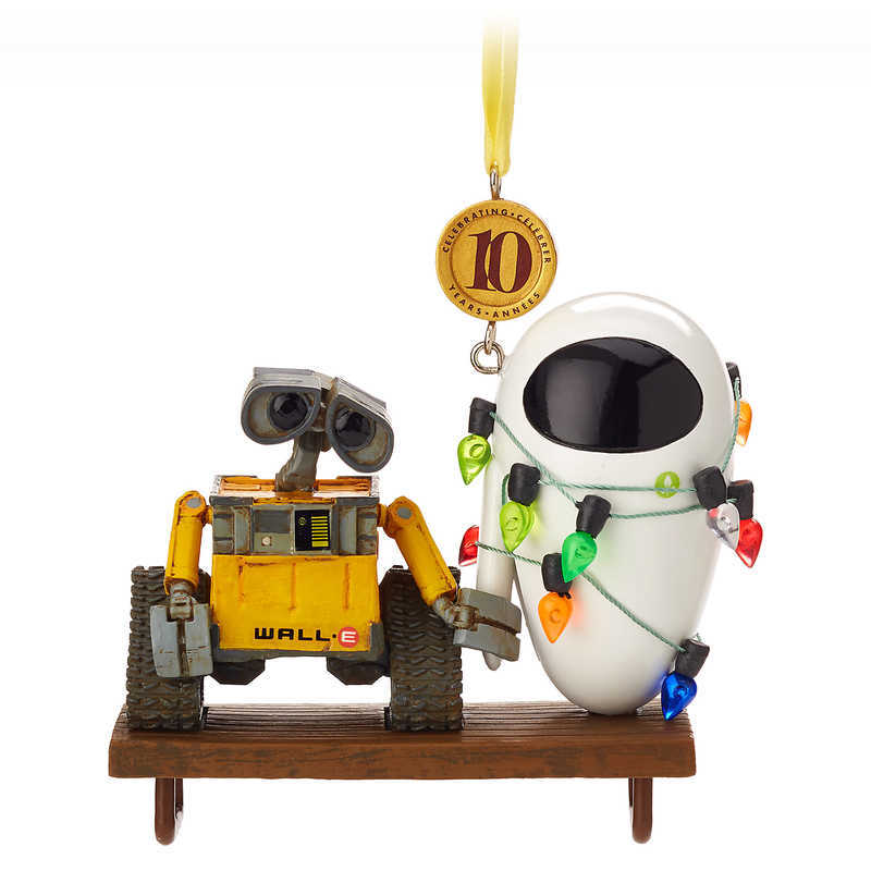 Disney US Formula Product Eve Wally Wall E Ornament Christmas Tree Decoration Decorations Limited Sketchbook Parallel Import Goods WALL