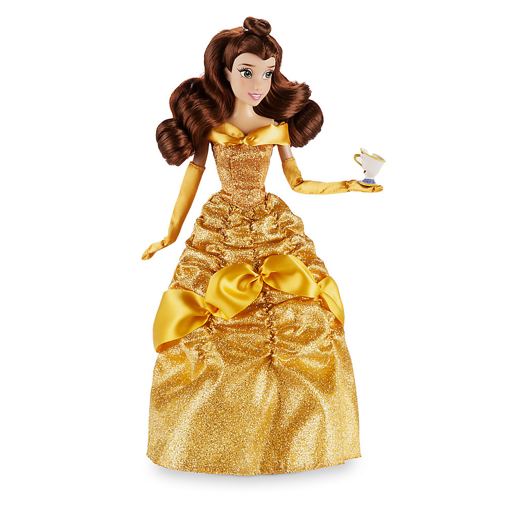 71a07e2521 Disney (Disney)US formula product Beauty and the Beast bell Princess figure  skating ornament doll Dole toy [parallel import goods] Belle Classic Doll  with ...