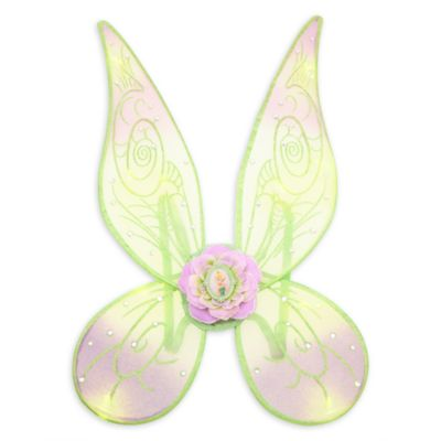 Light shiny costume cosplay Halloween Halloween children's kids boys girls Disney (Disney) US official product Tinkerbell light up wing wings gleaming capdase Tinker Bell Light-Up Wing