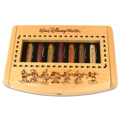 【取寄せ】ディズニー Disney US公式商品 ミッキーマウス ペン 筆記具 文具 文房具 アリバスブラザーズ [並行輸入品] Thru the Years Mickey Mouse Pen Set by Arribas - Personalizable
