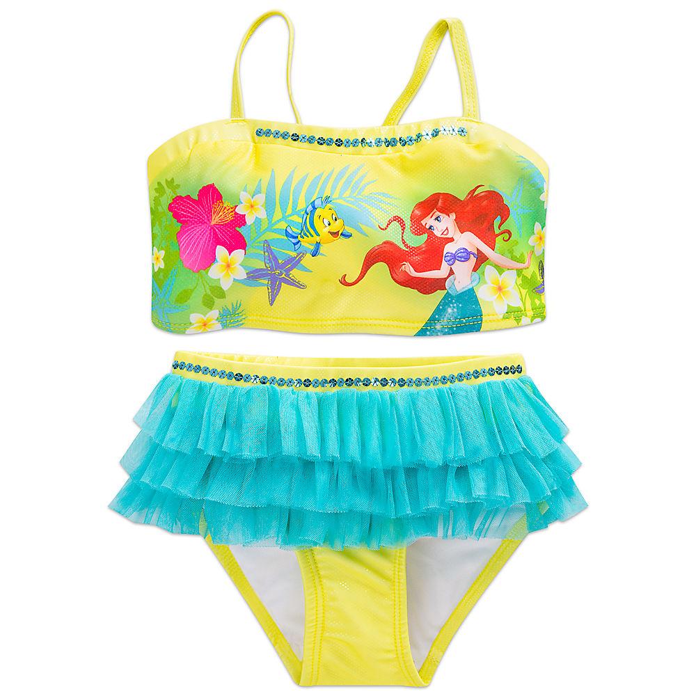 c9cbc39843 ... set clothes women for the child for the child of the Disney Disney US  formula product Little Mermaid Ariel Ariel Princess swimsuit swimwear  children's ...