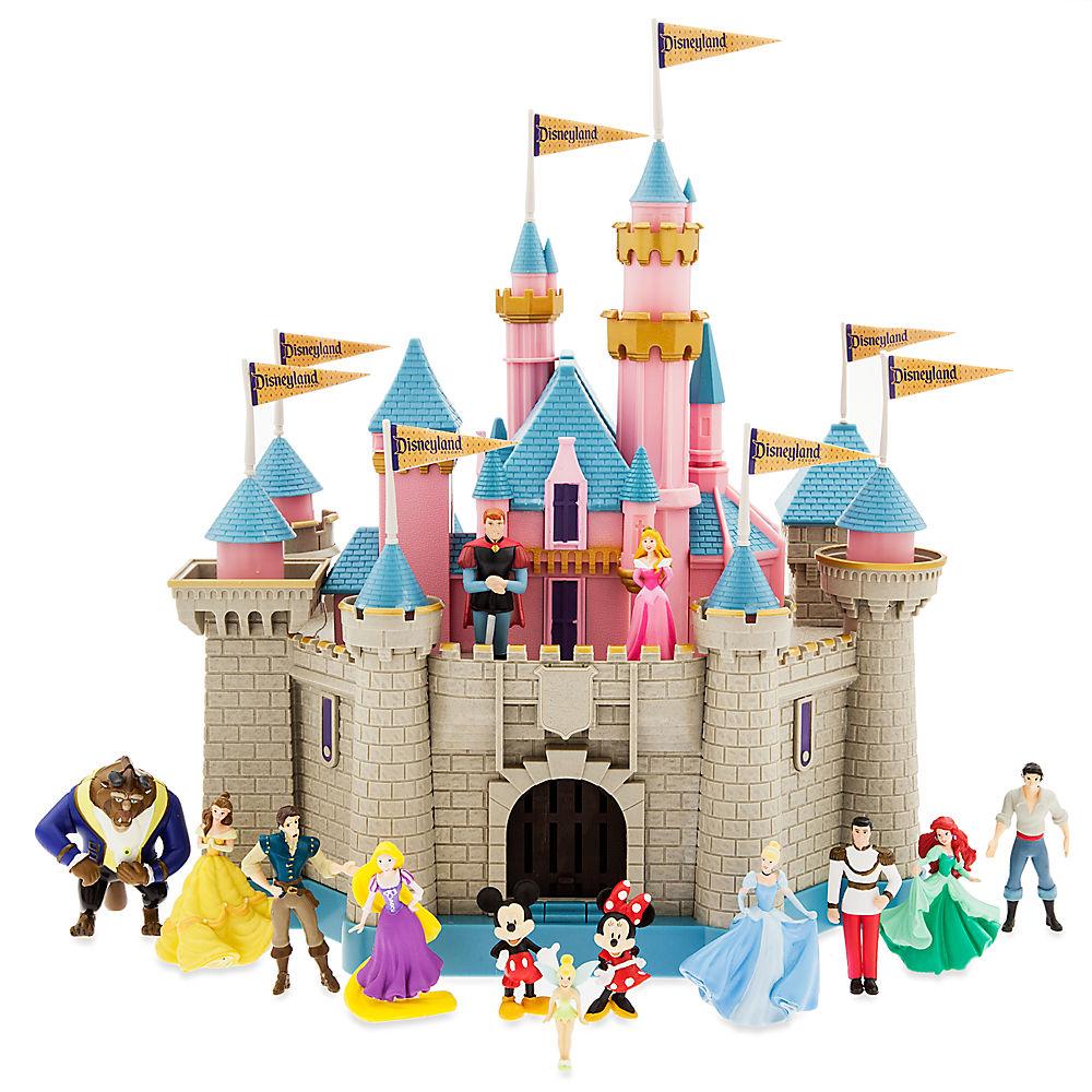 【1-2日以内に発送】 ディズニー Disney US公式商品 眠れる森の美女 オーロラ姫 プリンセス ディズニーランド おもちゃ 玩具 トイ セット [並行輸入品] Sleeping Beauty Castle Play Set - Disneyland グッズ ストア プレゼント ギフト 誕生日 人気 クリスマス 誕生日