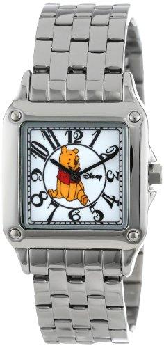 【あす楽】ディズニー Disney くまのプーさん 腕時計 時計 うでどけい とけい ウォッチ レディース 大人 女性用 [並行輸入品] Disney Women's W000468 Winnie the Pooh Perfect Square Bracelet Watch グッズ ストア プレゼント ギフト 誕生日 人気 クリス