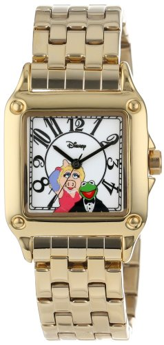 【あす楽】 ディズニー Disney マペットショー Muppet 腕時計 時計 うでどけい とけい ウォッチ レディース 大人 女性用 [並行輸入品] Disney Women's W000480 Muppets Perfect Square Bracelet Watch グッズ ストア プレゼント ギフト 誕生日 人気 クリスマ