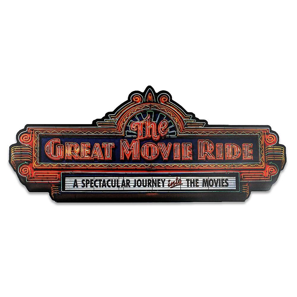 【取寄せ】 ディズニー Disney US公式商品 グレートムービーライド ウォールサイン 壁掛け サインボード サイン 標識 標示 [並行輸入品] The Great Movie Ride Wall Sign グッズ ストア プレゼント ギフト 誕生日 人気 クリスマス 誕生日 プレゼ
