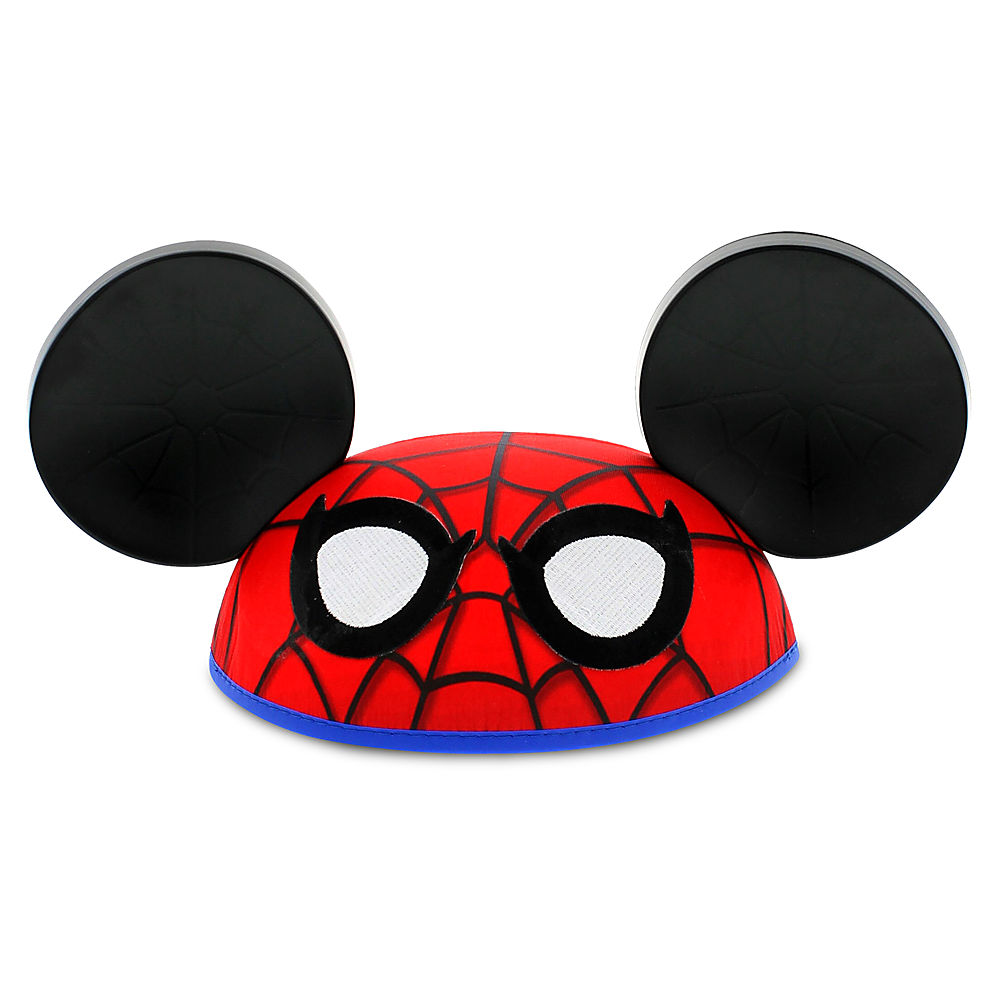 Parallel Import Goods Spider Man Ear Hat For Adults Store Present Gift Birthday Popularity Disney US Formula Product