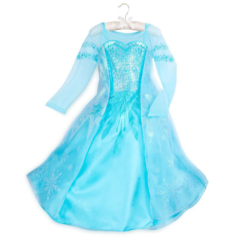 【取寄せ】 ディズニー Disney US公式商品 アナと雪の女王 アナ雪 アナ エルサ プリンセス コスチューム 衣装 ドレス 服 コスプレ ハロウィン ハロウィーン 服 コスプレ 子供 キッズ 女の子 男の子 [並行輸入品] Elsa Costume for Kids - Frozen グッズ ストア プレゼント
