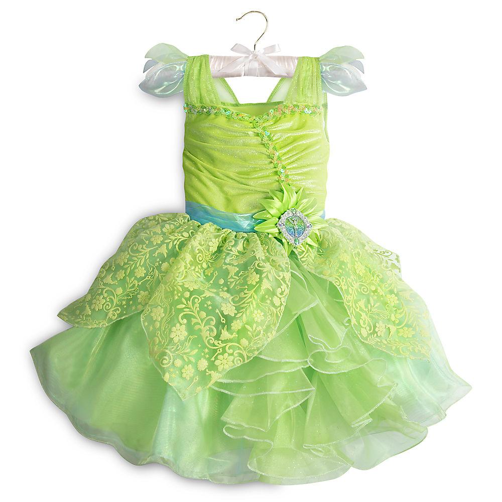 【1-2日以内に発送】ディズニー Disney US公式商品 ティンカーベル コスチューム 衣装 ドレス 服 コスプレ ハロウィン ハロウィーン 服 コスプレ 子供用 キッズ 女の子 【注意:羽は付属しません】[並行輸入品] Tinker Bell Costume for Kids グッズ ストア