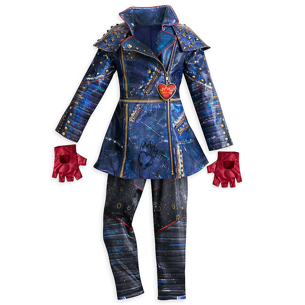 Child Boy Parallel Import Goods Evie Costume For Kids Descendants 2 Goods Store Presentation Of The Kids Woman For The Disney Disney Us Formula