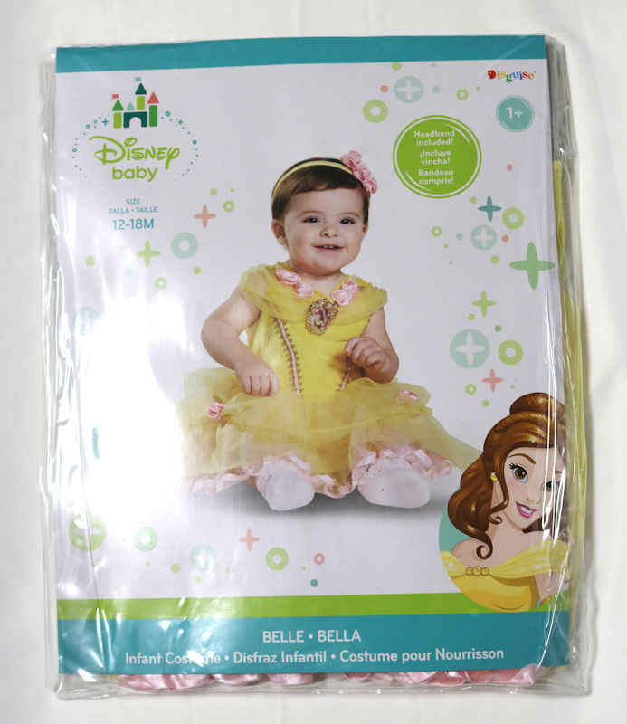 6ffa9aa6db1c Disney Disney Beauty and the Beast bell Princess dress (the shoes do not  include it.) Child girls  parallel import goods  Disney Baby Girls  Belle  Inf of ...