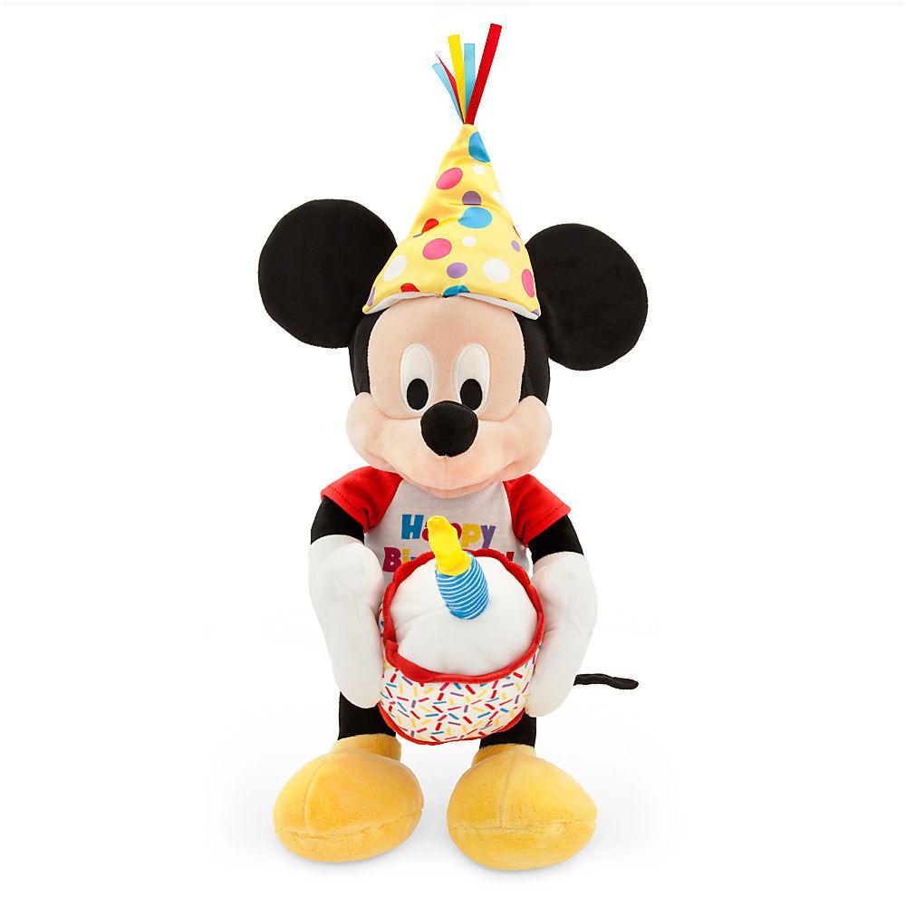 【あす楽】 ディズニー Disney US公式商品 ミッキーマウス プラッシュ ぬいぐるみ ハッピーバースデーの音楽が流れる 光る 人形 おもちゃ 【中サイズ】 ミュージカル バースデー 誕生日 パーティー 32.5cm [並行輸入品] Mickey Mouse