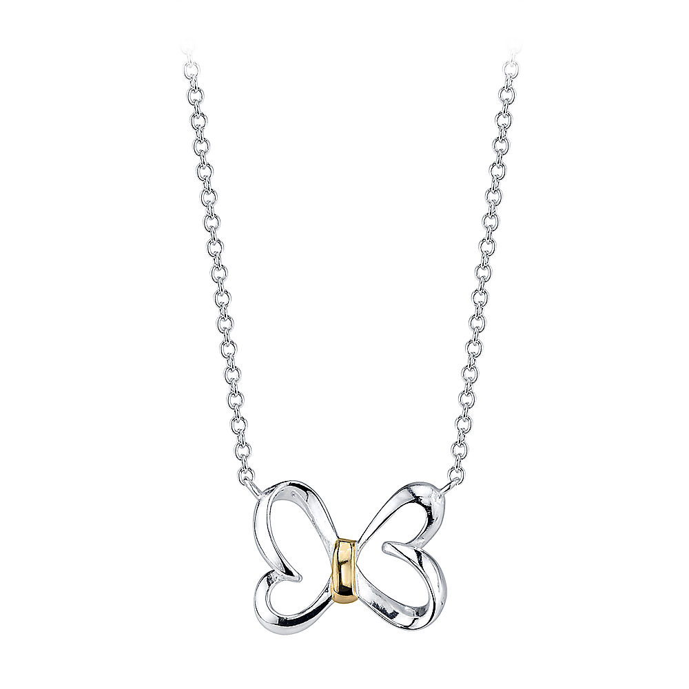 【取寄せ】 ディズニー Disney US公式商品 ミニーマウス ネックレス ジュエリー アクセサリー レディース 大人 女性 [並行輸入品] Minnie Mouse Bow Necklace for Women グッズ ストア プレゼント ギフト 誕生日 人気 クリスマス 誕生日 プレゼント ギフト