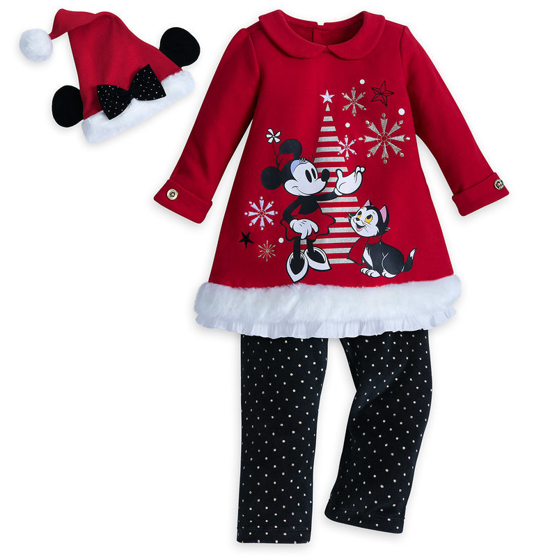 Minnie Mouse Christmas Dress.Child Boy Parallel Import Goods Minnie Mouse Holiday Knit Dress Set For Baby Of The Disney Disney Us Formula Product Minnie Mouse Costume Santa