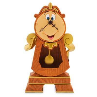 【1-2日以内に発送】ディズニー Disney US公式商品 美女と野獣 コグスワース ベル 執事 プリンセス 時計 置時計 置き時計 クロック [並行輸入品] Cogsworth Clock - Beauty and the Beast