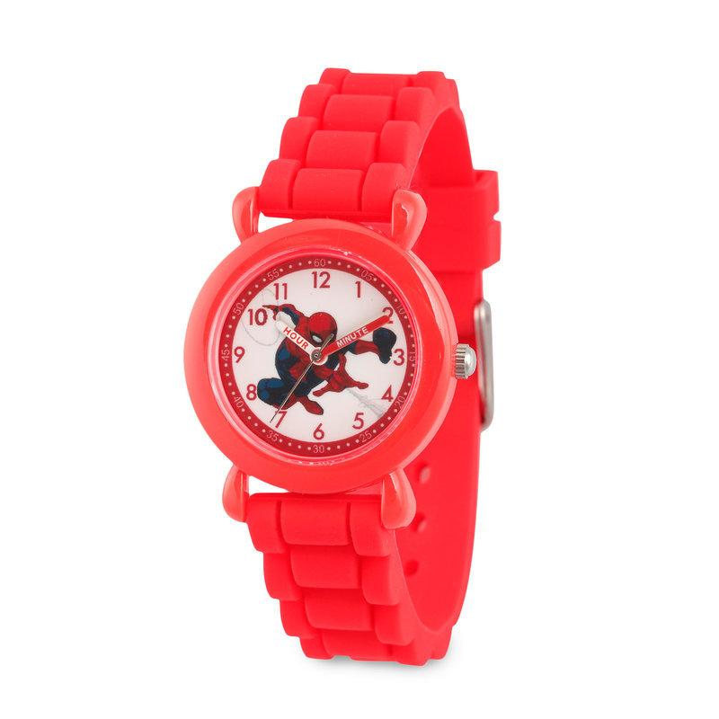 【取寄せ】 ディズニー Disney US公式商品 スパイダーマン 腕時計 子供 キッズ 女の子 男の子 [並行輸入品] Spider-Man Time Teacher Watch - Kids グッズ ストア プレゼント ギフト 誕生日 人気 クリスマス 誕生日 プレゼント ギフト