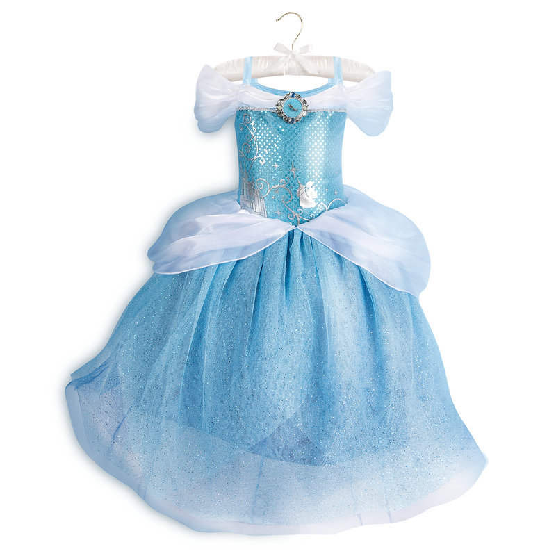 ... Costume For Kids Goods Store Present Gift Birthday Popularity Of The  Disney Disney US Formula Product Cinderella Princess Costume Clothes Dress  Clothes ...