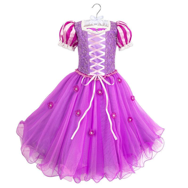 【取寄せ】 ディズニー Disney US公式商品 塔の上 ラプンツェル プリンセス コスチューム 衣装 ドレス 服 コスプレ ハロウィン ハロウィーン 服 コスプレ 署名 サイン 子供 キッズ 女の子 男の子 [並行輸入品] Rapunzel Signature Costume for Kids グッズ ストア プレ