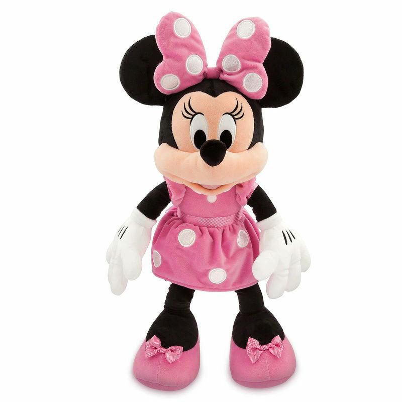 【1-2日以内に発送】 ディズニー Disney US公式商品 ミニーマウス ミニー ぬいぐるみ ピンク 約69cm 人形 おもちゃ 大サイズ [並行輸入品] Minnie Mouse Plush - Pink Large グッズ ストア プレゼント ギフト 誕生日 人気 クリスマス 誕生日 プレゼント ギフト