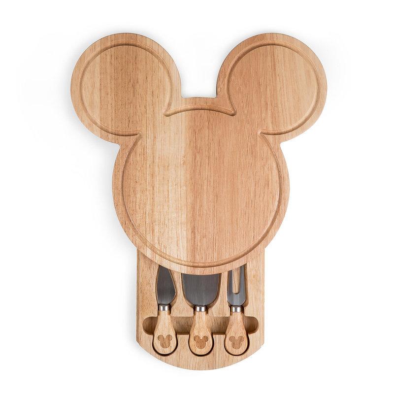 【取寄せ】 ディズニー Disney US公式商品 ミッキーマウス ミッキー チーズボード まな板 カッティングボード チーズナイフ 木製 [並行輸入品] Mickey Mouse Cheeseboard グッズ ストア プレゼント ギフト 誕生日 人気 クリスマス 誕生日 プレゼント ギフト