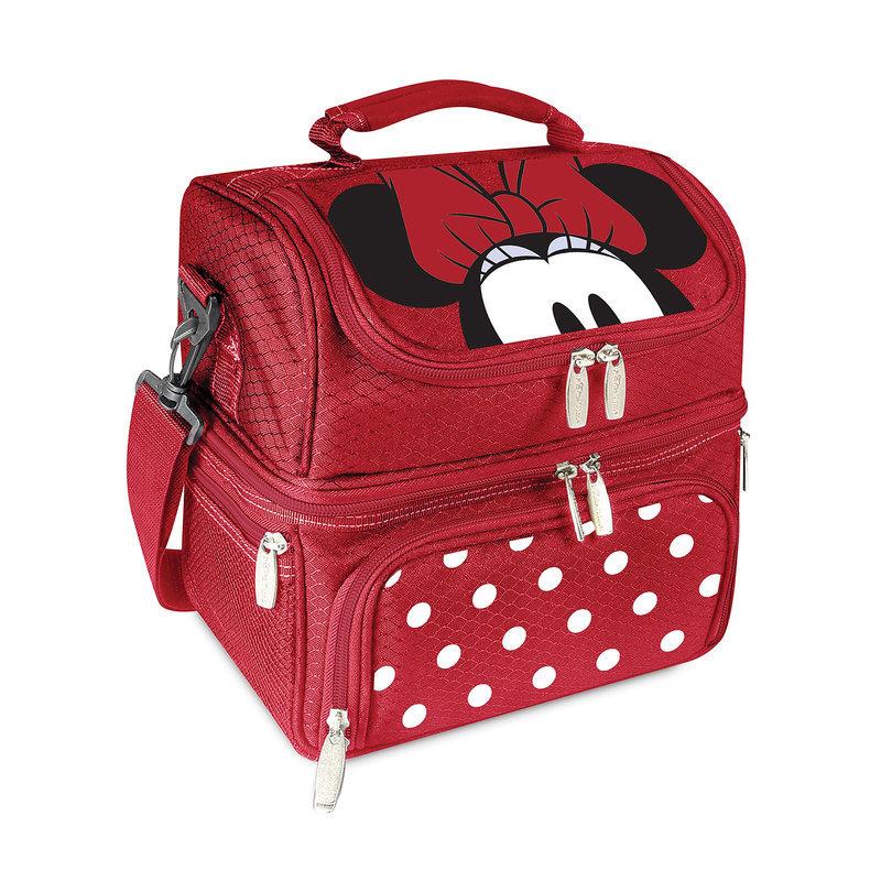 【取寄せ】 ディズニー Disney US公式商品 ミニーマウス ミニー トートバッグ バック 鞄 かばん 手提げ ランチトートバッグ お弁当入れ [並行輸入品] Minnie Mouse Lunch Tote グッズ ストア プレゼント ギフト 誕生日 人気 クリスマス 誕生日 プレゼント ギフト