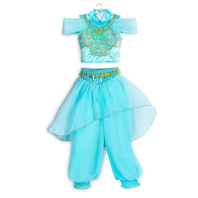 【取寄せ】 ディズニー Disney US公式商品 アラジン ジャスミン プリンセス コスチューム 衣装 ドレス 服 コスプレ ハロウィン ハロウィーン 服 コスプレ 子供 キッズ 女の子 男の子 [並行輸入品] Jasmine Costume for Kids - Aladdin グッズ ストア プレゼント ギフト 誕生