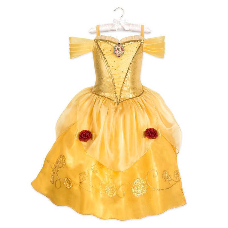 【取寄せ】 ディズニー Disney US公式商品 美女と野獣 ベル プリンセス 野獣 コスチューム 衣装 ドレス 服 コスプレ ハロウィン ハロウィーン 子供 キッズ 女の子 男の子 [並行輸入品] Belle Costume for Kids - Beauty and the Beast グッズ ストア プレゼント ギフト 誕生