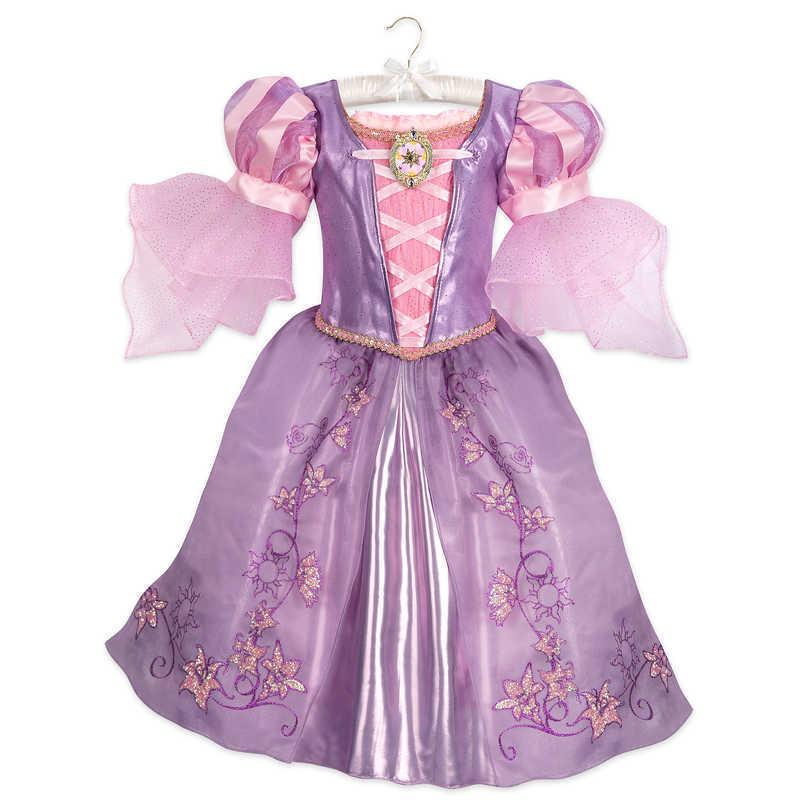 【取寄せ】 ディズニー Disney US公式商品 塔の上 ラプンツェル プリンセス コスチューム 衣装 ドレス 服 コスプレ ハロウィン ハロウィーン 子供 キッズ 女の子 男の子 [並行輸入品] Rapunzel Costume for Kids - Tangled グッズ ストア プレゼント ギフト 誕生日 人気 クリ