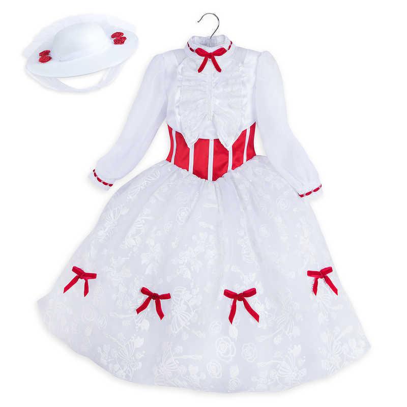 【取寄せ】 ディズニー Disney US公式商品 メリーポピンズ Mary Poppins コスチューム 衣装 ドレス 服 コスプレ ハロウィン ハロウィーン 子供 キッズ 女の子 男の子 [並行輸入品] Costume for Kids グッズ ストア プレゼント ギフト 誕生日 人気 クリスマス 誕生日 プレゼン